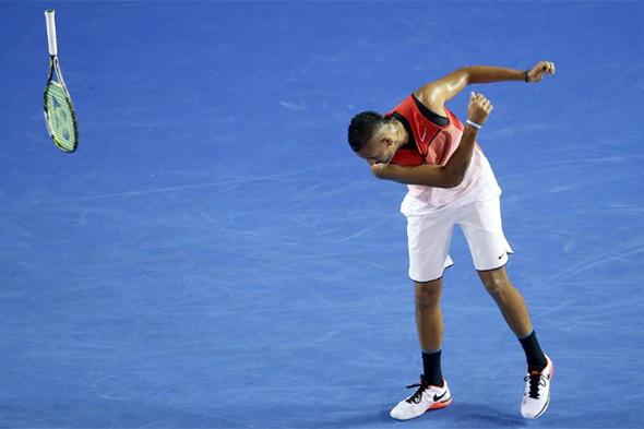 Errori e difficoltà in una partita di tennis