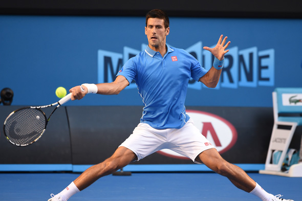 Djokovic dritto